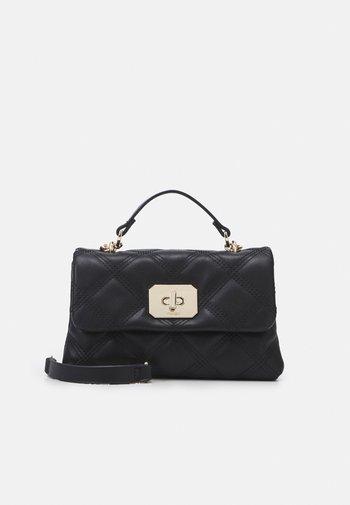 CROSSBODY HEXAGON M - Handbag - black