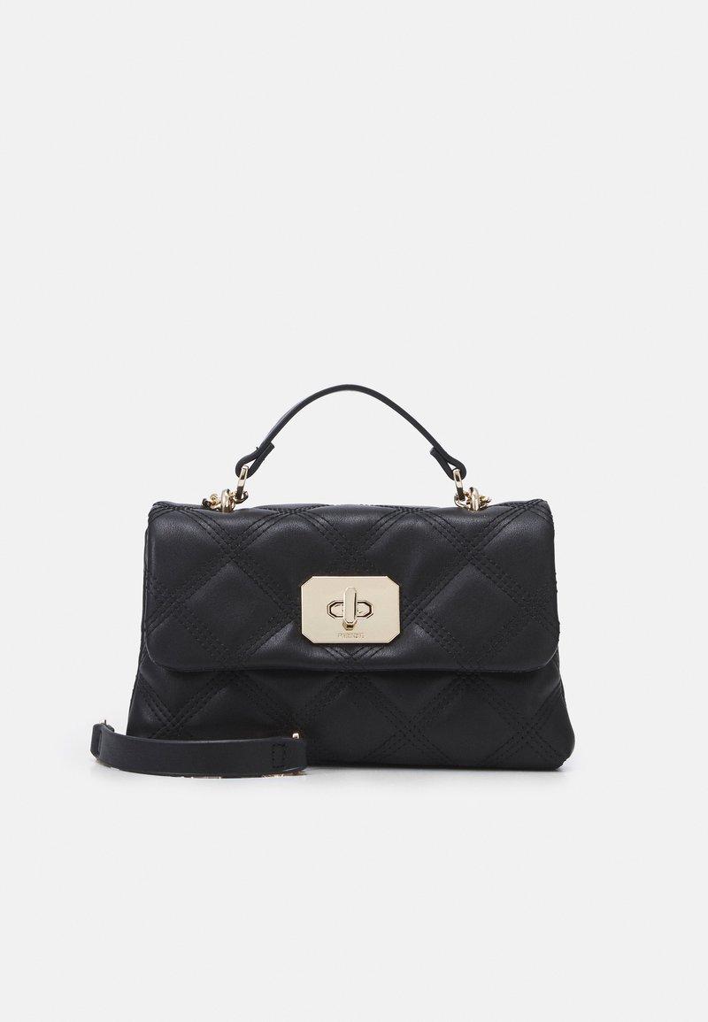 PARFOIS - CROSSBODY HEXAGON M - Handbag - black