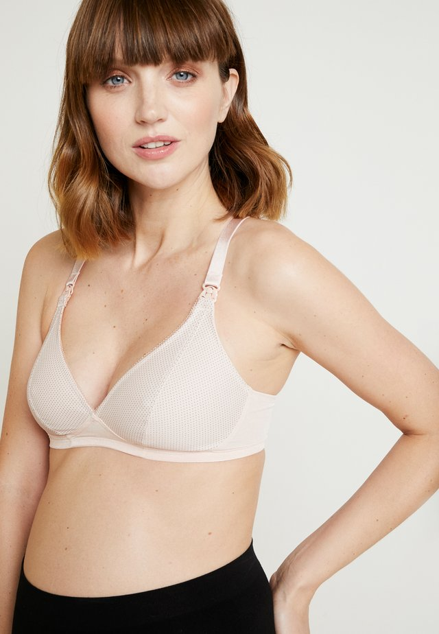 MISS MIMI STILL - Triangle bra - rosewater