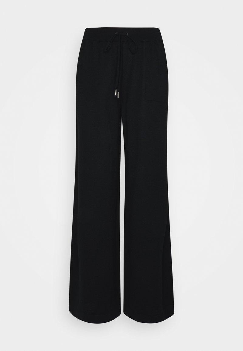 Johnstons of Elgin - MARLA PANT - Kalhoty - black