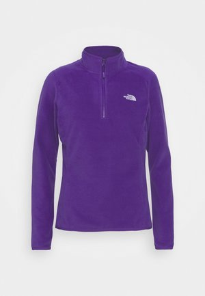 WOMENS GLACIER ZIP - Fleecetrøjer - peak purple
