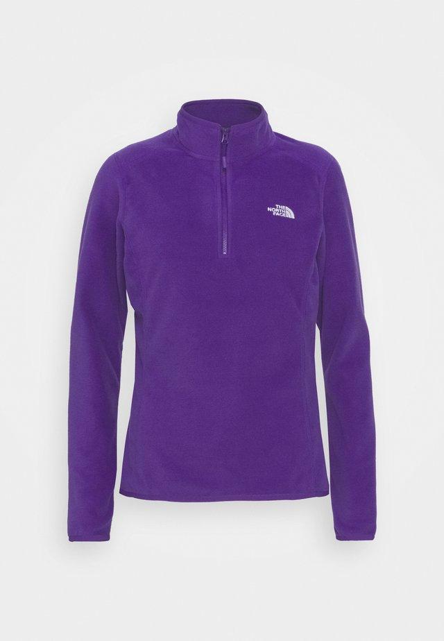 WOMENS GLACIER ZIP - Fleecetröja - peak purple