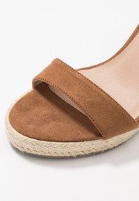New Look - PERTH - Sandály na vysokém podpatku - tan - 2