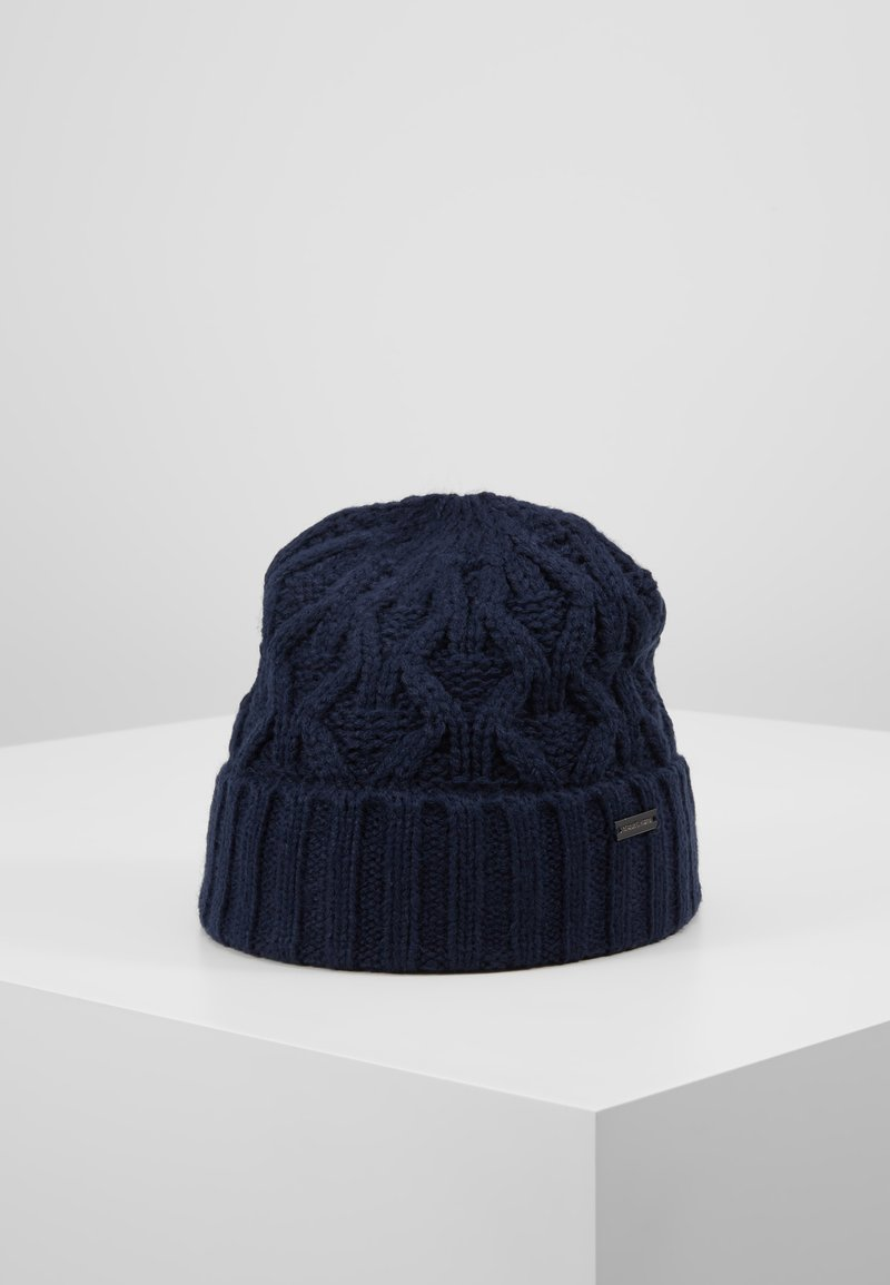 Michael Kors - CABLE CUFF HAT - Berretto - midnight
