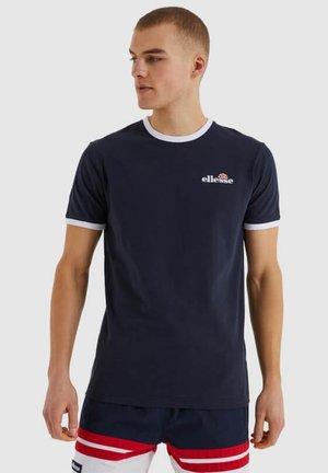 MEDUNO - Print T-shirt - blue