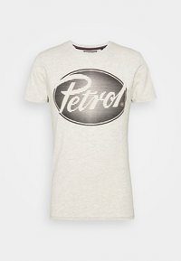 Print T-shirt - antik white