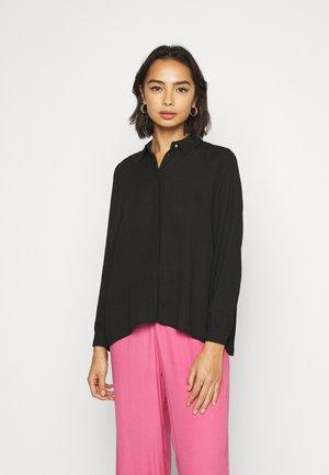 ONLVIOLA - Button-down blouse - black