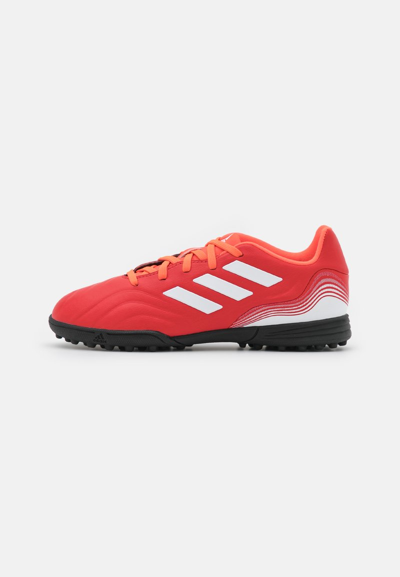 adidas Performance - COPA SENSE.3 TF UNISEX - Kopačky na umělý trávník - red/footwear white/solar red