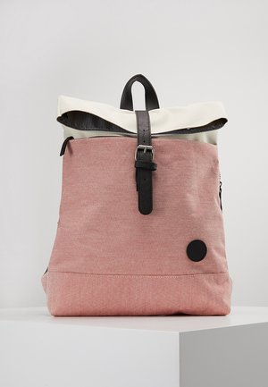 Rucksack - melange red/natural