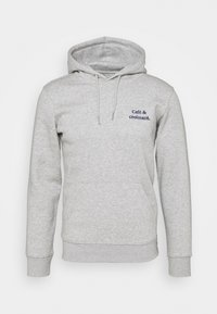 Les Petits Basics - HOODIE CAFÉ CROISSANT UNISEX - Sweatshirt - heather grey - 0