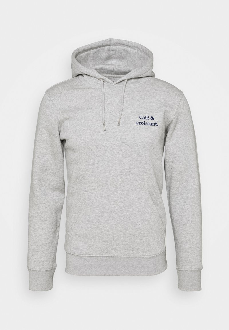 Les Petits Basics - HOODIE CAFÉ CROISSANT UNISEX - Sweatshirt - heather grey