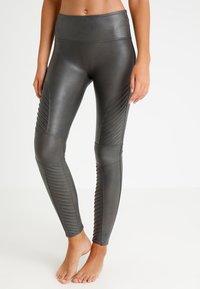 Spanx - MOTO - Leggings - Stockings - gunmetal - 0