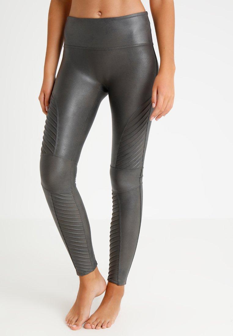 Spanx - MOTO - Leggings - Stockings - gunmetal