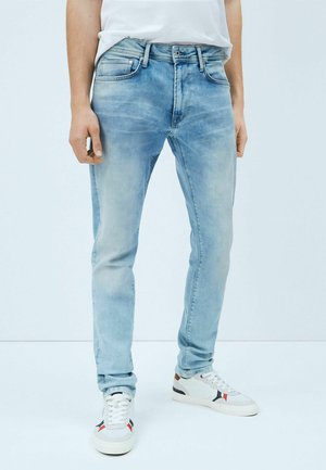STANLEY - Relaxed fit jeans - denim
