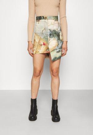 INFINITY SKIRT - Mini skirt - boucher