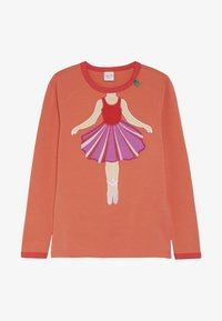 Fred's World by GREEN COTTON - HELLO BALLET  - Langærmede T-shirts - warm coral - 2
