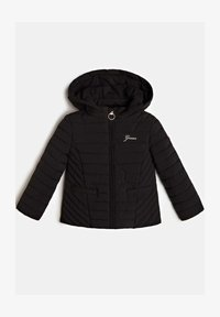 Guess - MIT ABNHEMBARER KAPUZE - Light jacket - schwarz - 0