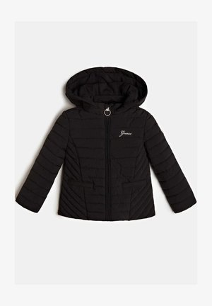 MIT ABNHEMBARER KAPUZE - Light jacket - schwarz
