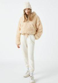 PULL&BEAR - Zimní bunda - beige - 1