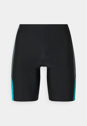 DIVE JAMMER AM - Swimming trunks - black/usa charcoal/hypsonicblu