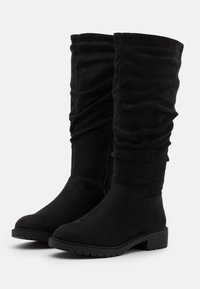 New Look Wide Fit - WIDE FIT CLOUD SLOUCH KNEE HIGH  - Laarzen - black - 2