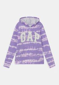 GAP - GIRL LOGO TIE DYE - Mikina - purple - 0
