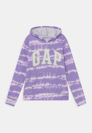 GIRL LOGO TIE DYE - Sweatshirt - purple