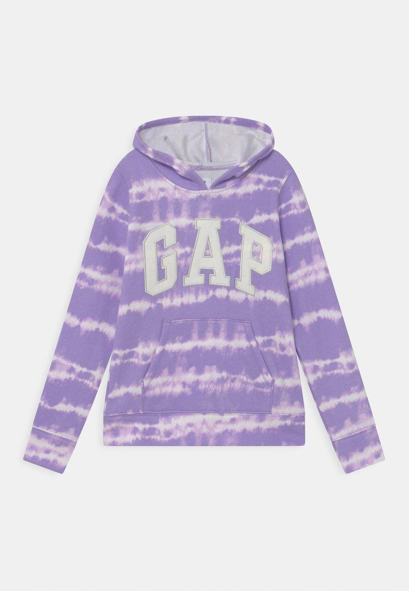 GAP - GIRL LOGO TIE DYE - Mikina - purple