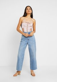 Missguided Tall - UP BODYSUIT - Top - pink - 1