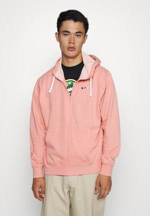 HOODIE - veste en sweat zippée - pink quartz