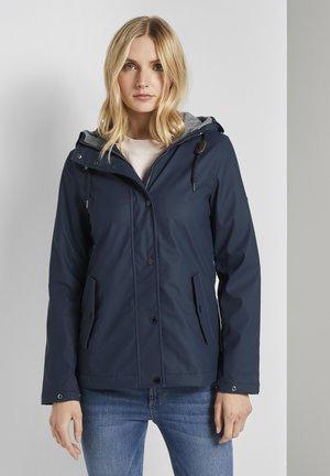 Outdoor jacket - sky captain blue