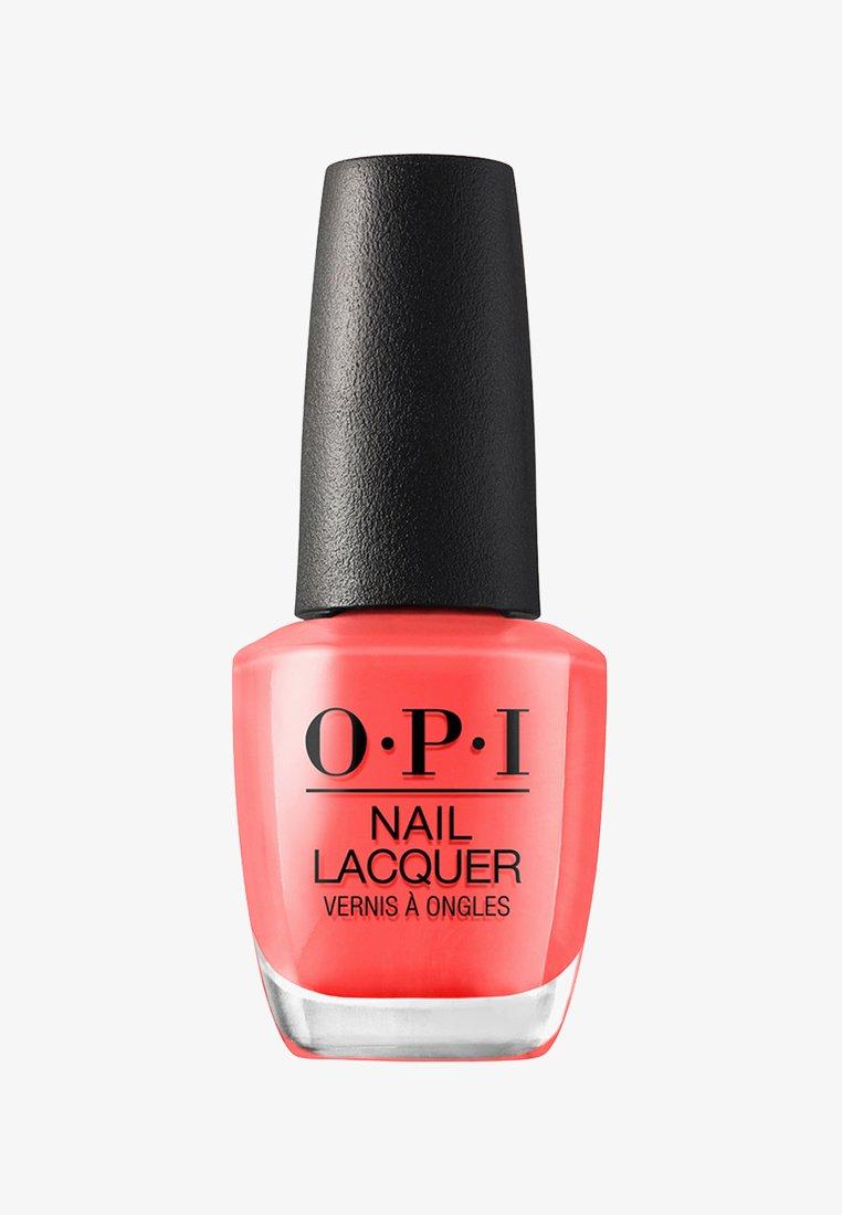 OPI - NAIL LACQUER - Nail polish - nlh 43 hot & spicy