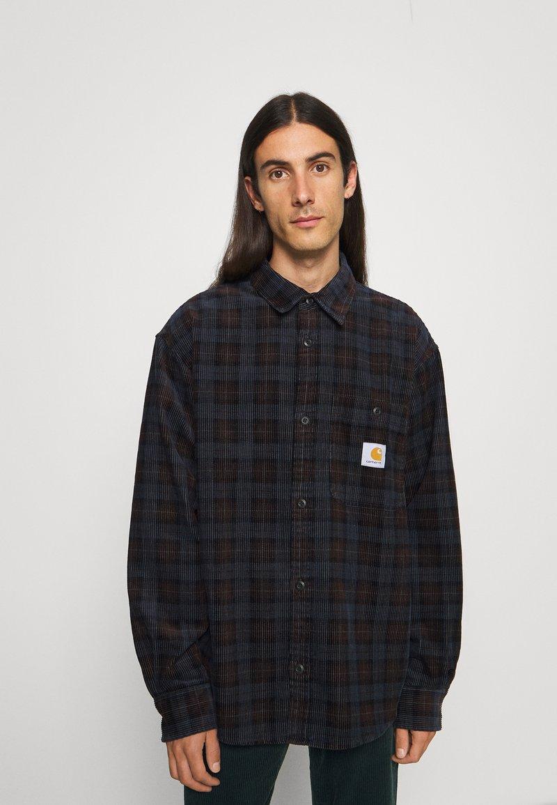 Carhartt WIP - FLINT SHIRT - Overhemd - Tobacco