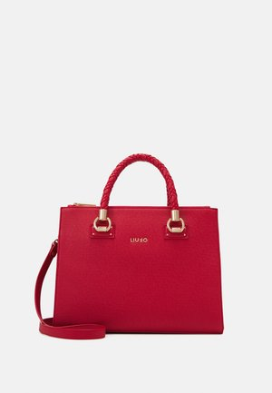 SATCHEL DOUBLE ZIP - Handtasche - true red
