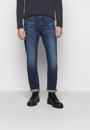 CRUX - Džíny Slim Fit - mid blue