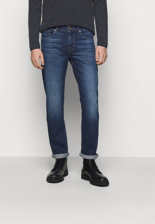 CRUX - Jeansy Slim Fit - mid blue