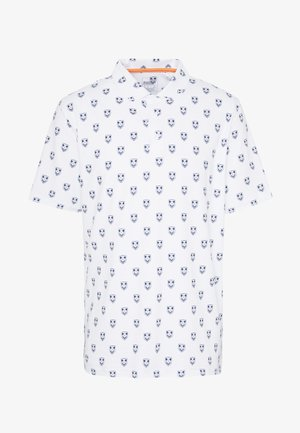 LUX SKULL - Polo - bright white