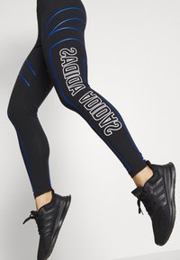 adidas Performance - GRAPHIC - Leggings - black - 3