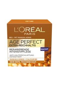 L'Oréal Paris Skin - AGE PERFECT EXTRA-RICH MANUKA NIGHT CREAM 50ML - Night care - - - 1