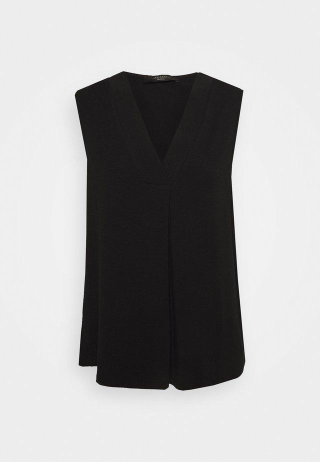 ODILE - Camiseta estampada - schwarz