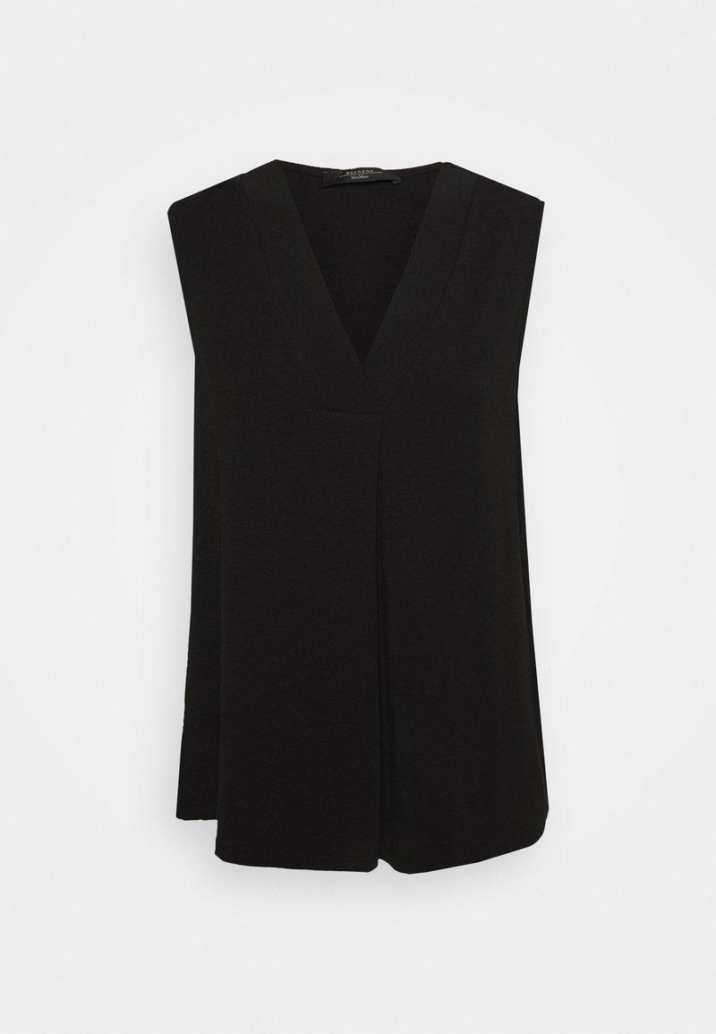 WEEKEND MaxMara - ODILE - T-shirts med print - schwarz