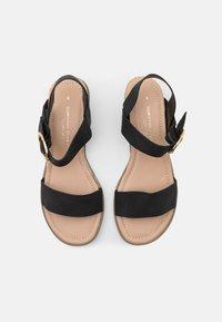 Dorothy Perkins - RADIATE WEDGE - Wedge sandals - black - 5