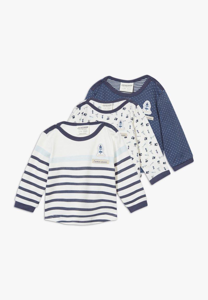 Jacky Baby - COUCOU MON PETIT 3 PACK - T-shirt à manches longues - light blue