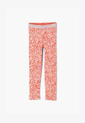 Leggings - Trousers - orange aop