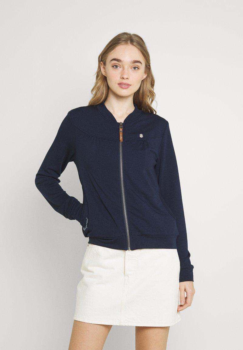Ragwear - KENIA - Zip-up sweatshirt - navy