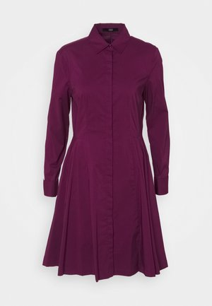 EXCLUSIVE BLOUSE DRESS - Shirt dress - wild berry