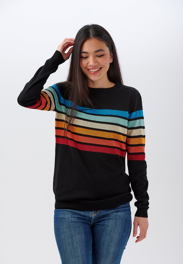 SWEATER RITA SPARKLE SPECTRUM - Sweatshirt - black