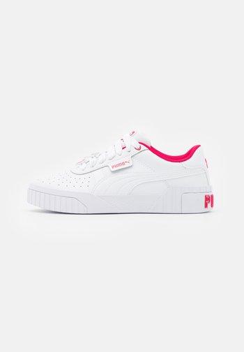 CALI GALENTINES  - Tenisky - white/virtual pink