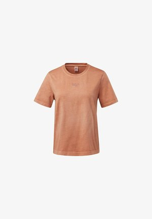 CLASSICS WASHED - T-Shirt basic - brown