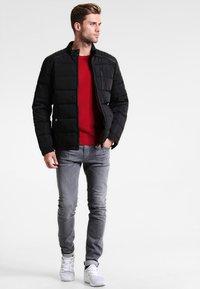 HARRINGTON - BIKER - Winter jacket - noir - 1